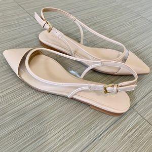 NWB Aldo Ballerina Slingback Flat